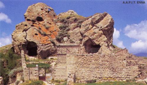 Cerami: Castello Normanno - A.A.P.I.T. ENNA