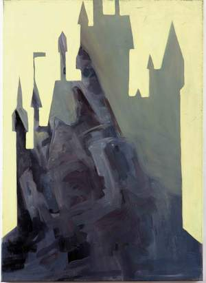 Elisabeth Strigini Castle oil on canvas, 50 cm x 70 cm, 20 x 28 inches, 2005