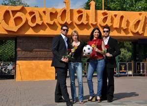 Donne a Gardaland durante i Mondiali di Calcio
