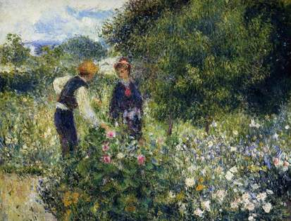 Renoir Picking Flowers