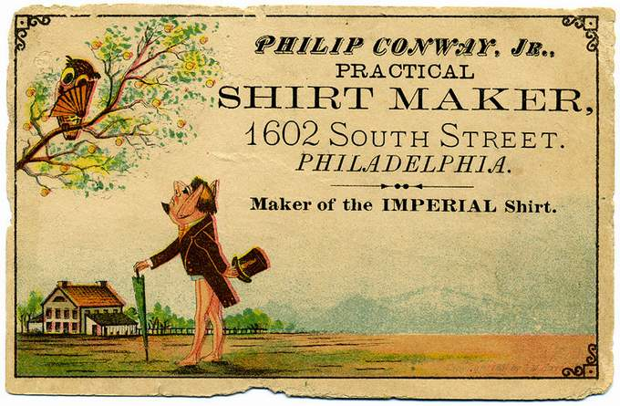 Shirt maker, Philadelphia