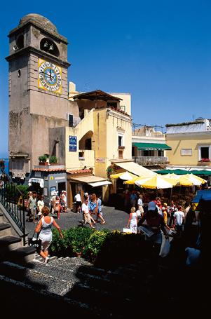 Capri, the town