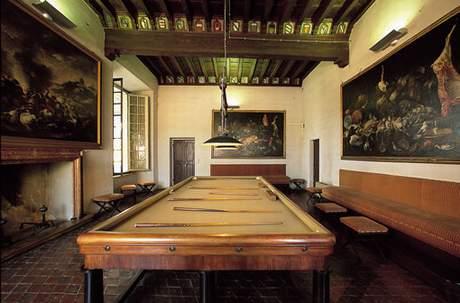 Rocca, indoor view