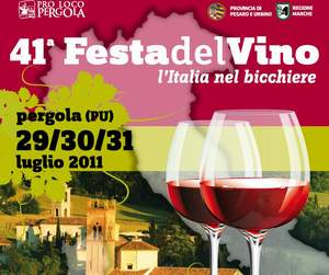 Festa del Vino a Pergola (PU)