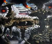 Fulvio Di Piazza, Scenari possibili, 2011, olio su tela, 170 x 200 cm
