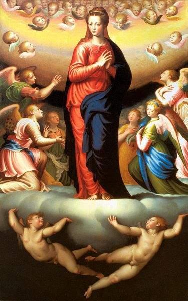Assumption by Bernardino Campi