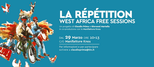 La répétition West Africa free sessions - Lecce 29 Marzo