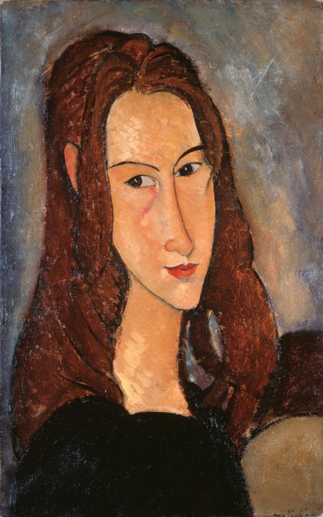 Amedeo Modigliani: Jeune fille rousse (Jeanne Hébuterne), 1918