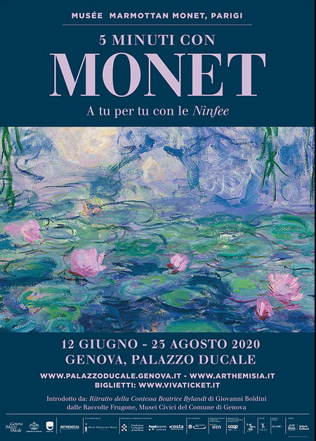 Cover Mostra Monet Genova