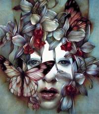 Marco Mazzoni, Dear Catastrophe, 2011, matite colorate su carta, 30 x 26 cm