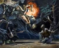 Nicola Verlato, Missisipi, 1932, 2010, olio su tela, 200 x 244 cm
