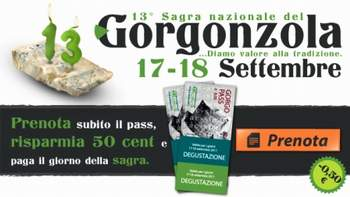 13 Sagra del Gorgonzola, a Gorgonzola (MI)