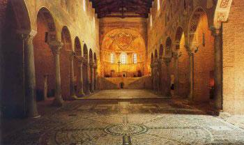 Pomposa Abbazia - Interno (c) Archivio Fotografico della Provincia di Ferrara