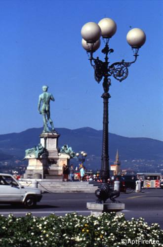 Piazzale Michelangelo - Le immagini sono di proprietà dell'Agenzia per il turismo di Firenze