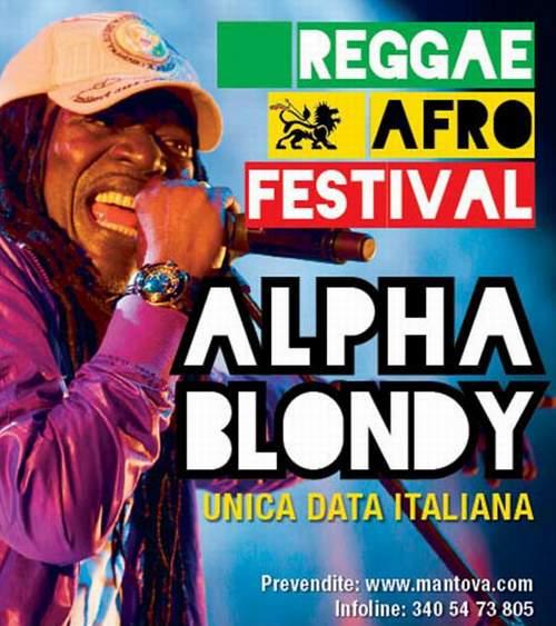 Alpha Blondy, il 7 dicembre 2011 al PalaBam di Mantova