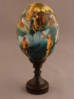 Salvo Russo, Acquario - mostra Uova d'Autore dal 29 marzo al 29 maggio 2012