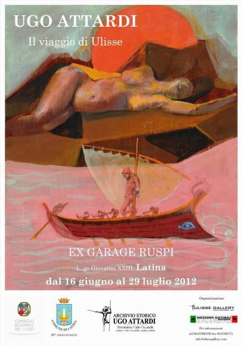 Ugo Attardi, Il viaggio di Ulisse - dal 16 giugno al 29 luglio 2012