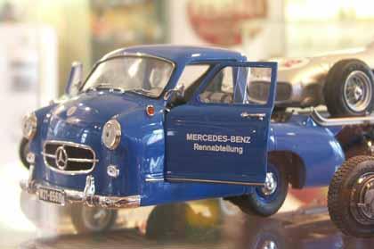Camion trasporto Mercedes da gara - Museo Modellismo Storico Voghenza (FE)