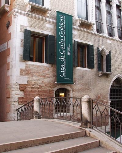 """Venezia, """"Ca' Centenni"""", Casa di Carlo Goldoni"""