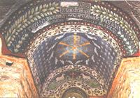 Battistero paleocristiano (V sec. d. C.). Il mosaico - Civico Museo Ingauno (Albenga - SV)