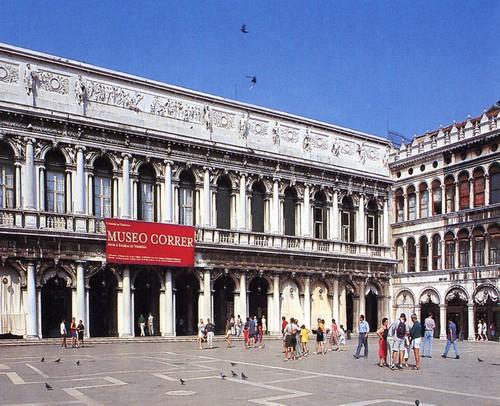 L'Ala Napoleonica, ingresso del Museo Correr - Venezia, Piazza San Marco