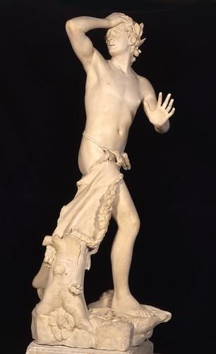 Antonio Canova (1757 - 1822): Orfeo (1775 - 1776) Pietra di Vicenza , cm. 203 x 85 x 54 - Venezia, Museo Correr, Sala 2