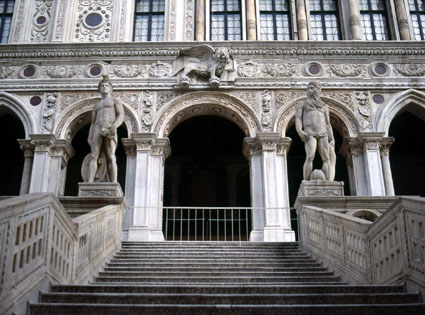 Scala dei Giganti - Venezia, Palazzo Ducale