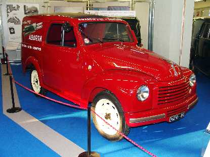 Museo dell'Auto - Fiat 500 C Furgone Assistenza Abarth '52