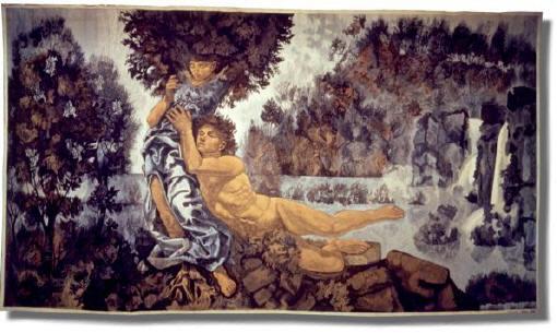 Cagli, Apollo e Dafne - Museo degli Arazzi Scassa