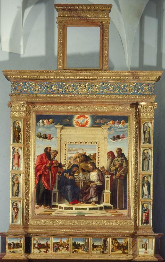 Pala del Bellini - Musei Civici di Pesaro