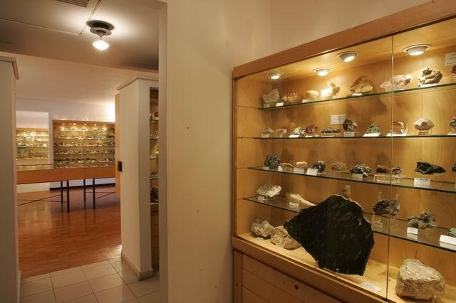 Sala D - Museo Mineralogico Campano - Fondazone Discepolo