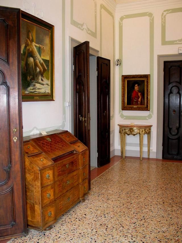 Villa Croze - Atrio (Galleria Civica Vittorio Veneto - TV)