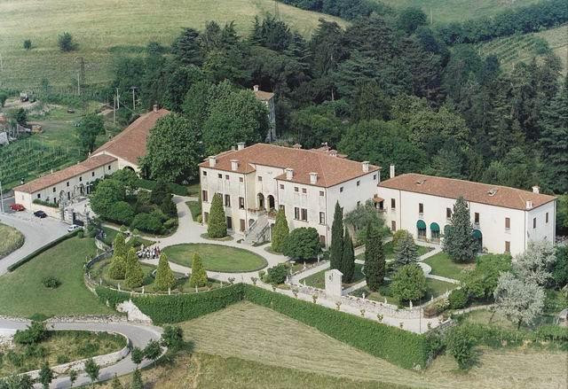 Villa Malinverni: panoramica