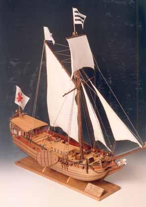 Yacht d'oro di C. Campi - Museo Modellismo Storico Voghenza (FE)