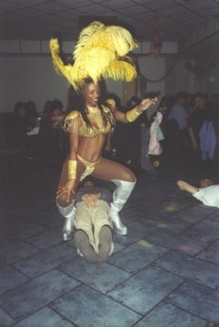 Ballerina al Rodizio Brasileiro di Genova