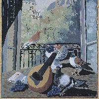 La finestra coi colombi 1931 ca.
