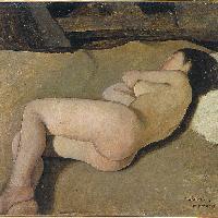 Nuda (studio per Meriggio) 1922