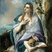 El Greco: Santa Maddalena penitente