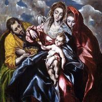 El Greco: Sacra famiglia