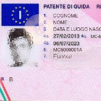 Patente di guida italiana
