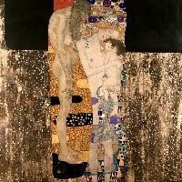 Gustav Klimt Le tre età della donna 1905