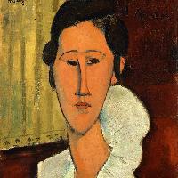 Amedeo Modigliani Ritratto di Hanka Zborowska 1917