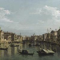 Il Canal Grande verso sud, dai Palazzi Foscari e Moro Lin fino a Santa Maria della Carità, Venezia
