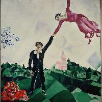 Marc Chagall, La passeggiata