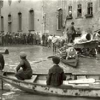 Inondazione in Wetzlar 1920