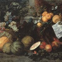 Jan Roos Natura morta di frutta