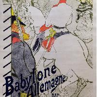 Henri de Toulouse-Lautrec Babylone d'Allemagne 1894
