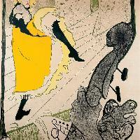 Henri de Toulouse-Lautrec Jane Avril 1893