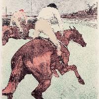 Henri de Toulouse-Lautrec Il fantino 1899