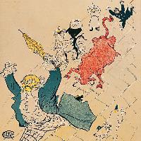 Henri de Toulouse-Lautrec La vache enragée 1896